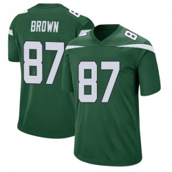 Daniel Brown New York Jets Youth Game Gotham Green Jersey