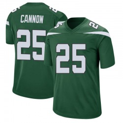 Nike Trenton Cannon New York Jets Men's Game Gotham Green Jersey