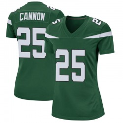 Nike Trenton Cannon New York Jets Women's Game Gotham Green Jersey