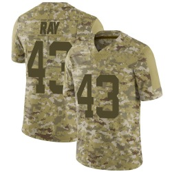 Nike Wyatt Ray New York Jets Youth Limited Camo 2018 Salute to Service Jersey