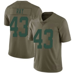 Nike Wyatt Ray New York Jets Youth Limited Green 2017 Salute to Service Jersey